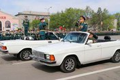 Парад в честь Великой Победы прошел в Уссурийске