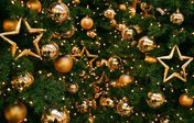 Праздничное открытие новогодней ёлки