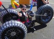 Семейный фестиваль «Парад колясок» прошёл в Уссурийске