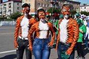 В Уссурийске с размахом отметили День тигра!