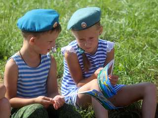 День Воздушно-десантных войск отметили в Уссурийске