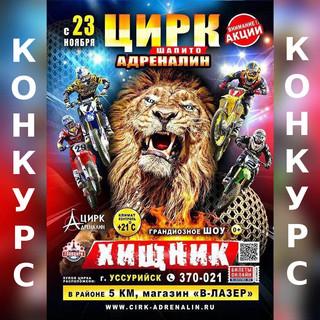 Розыгрыш билета на захватывающее цирковое представление!