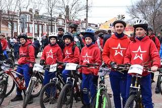 Мемориальный велопробег, посвященный памяти погибших в локальных войнах, стартовал в Уссурийске