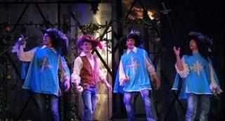 Мюзикл «Три мушкетёра»