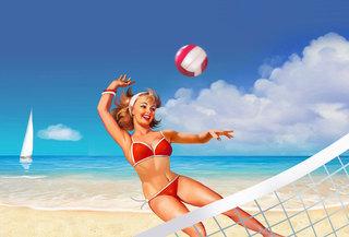 Открытое первенство УГО по пляжному волейболу