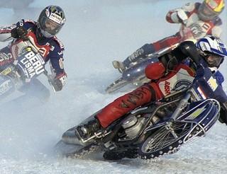 Чемпионат Приморского края по мотогонкам на льду