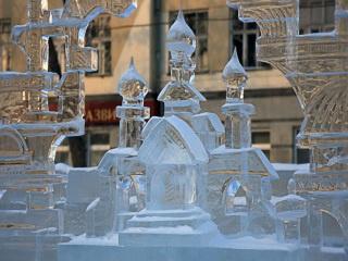 Открытие ледового городка «Царство Снежной королевы»