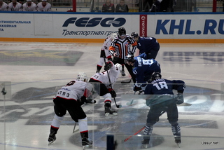 Уссурийцы посетили серию домашних игр хоккейного клуба «Адмирал»