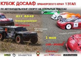 Соревнования на Кубок ДОСААФ по автомодельному спорту