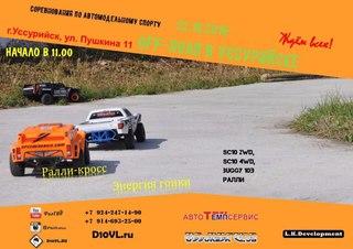 Соревнования по автомобильному спорту в классе RCRALLYCROSS