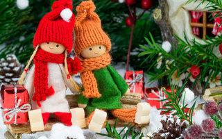 Приключения Маши и Вити под Новый год
