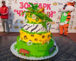 Шикарным праздником отметил зоопарк «Чудесный» свой третий день рождения