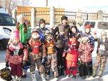 Мотогонки на льду в Приморье: юные спортсмены на крошечных мотоциклах