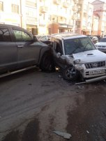Сразу три машины пострадали в ДТП в Уссурийске