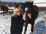 Молодого жеребца подарили певице Наталье Гулькиной в Уссурийске