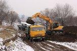 Готовый мост между Кроуновкой и Корсаковкой обещают на этой недели
