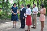 Глава администрации Евгений Корж проинспектировал дошкольные учреждения округа