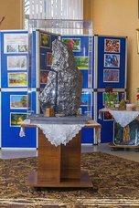 В Народном музее истории и краеведения п. Пограничный появилась гипсовая копия метеорита