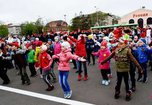 На общегородскую зарядку в Уссурийске пришло 500 человек