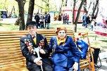В городском парке Уссурийска для ветеранов ВОВ организовали праздничную программу
