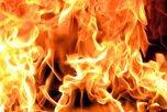 Ночью в Уссурийске сгорел грузовик