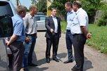 Состояние дорог и благоустройство микрорайонов МРО и «7 ветров» проинспектировал глава администрации УГО
