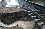 Дожди размыли в Приморье Транссибирскую магистраль, прервав сообщение с Владивостоком