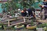 Аварийно-восстановительные работы продолжаются в Уссурийском городском округе