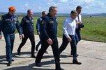 Министр МЧС Владимир Пучков посетил Уссурийск с рабочим визитом
