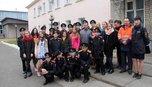 В Уссурийске транспортные полицейские встретились с суворовцами и школьниками