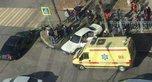 Участник ДТП подмял под себя пешеходов в Уссурийске