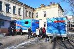 Автопоезда «Забота» прибыл в п. Тимирязевский