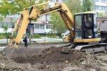 В Уссурийске в сквере имени Кузьменчука начались работы по благоустройству