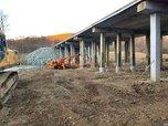 Работы на аварийном мосту в селе Кондратеновка подходят к концу