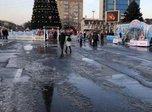 Неприятно закончилась история со снегом, который бизнесмен привез на площадь Уссурийска