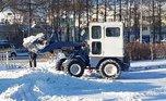 Около 300 кубометров снега вывезено за ночь на снежный полигон