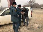В Уссурийске задержаны 7 нарушителей особого противопожарного режима