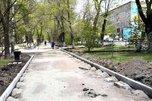 В Уссурийске приступили к ремонту тротуаров