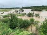 В реках Уссурийска вода пошла на спад