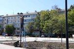 В Уссурийске продолжается строительство новых скверов