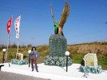 Статуя орла украсила Уссурийск