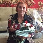 С 90-летним юбилеем поздравили ветерана Великой Отечественной войны Александру Кузнецову