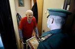 55 ветеранов ВОВ поздравили с приближающимся Днем Победы в Уссурийске