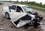 В аварии под Сергеевкой погиб человек, ещё два получили травмы