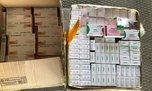 533 упаковки с лекарственными препаратами обнаружили уссурийские таможенники в кабине транспортного средства