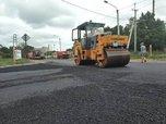 Около 2000 тонн нового асфальта уложили на улице Ушакова в Уссурийске