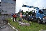 В Уссурийске стартовал капитальный ремонт дворов, выбранных в рамках проекта «Народный бюджет»