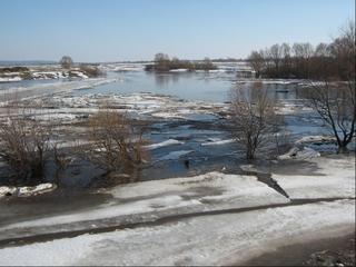 Весной в Приморье возможно мощное половодье из-за высокого уровня воды в реках