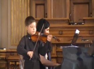 Юный скрипач прославил Уссурийск на международном конкурсе «Щелкунчик» в Москве