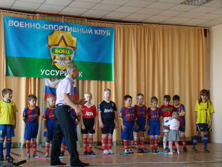 Военно-спортивный патриотический клуб «Боец» отметил 25-летие